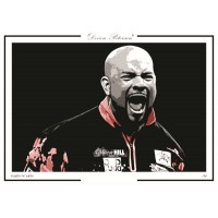 Devon Petersen A3 Signed Print #003