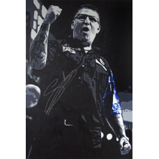 Gary Anderson 3ft x 2ft Original Acrylic Signed Painting #001