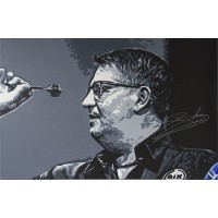 Gary Anderson 3ft x 2ft Original Acrylic Signed Painting #004