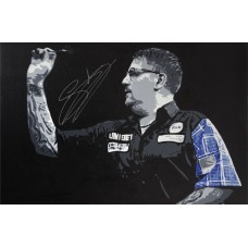 Gary Anderson 3ft x 2ft Original Acrylic Signed Painting #003