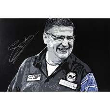 Gary Anderson 3ft x 2ft Original Acrylic Signed Painting #002