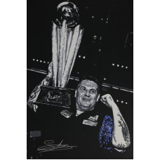 Gary Anderson 3ft x 2ft Original Acrylic Signed Painting #016