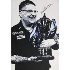 Gary Anderson 3ft x 2ft Original Acrylic Signed Painting #017