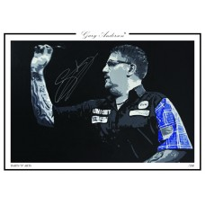 Gary Anderson A3 Print #003