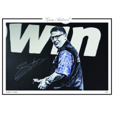 Gary Anderson A3 Print #005