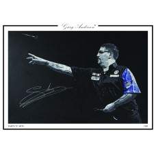 Gary Anderson A3 Print #007