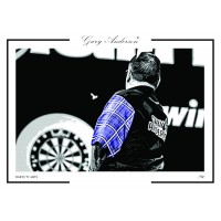 Gary Anderson A3 Signed Print #006