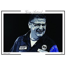 Gary Anderson A3 Signed Print #002