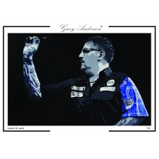 Gary Anderson A3 Signed Print #003