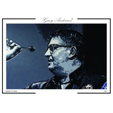 Gary Anderson A3 Signed Print #004