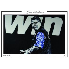 Gary Anderson A3 Signed Print #005