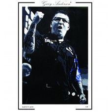 Gary Anderson A3 Signed Print #001