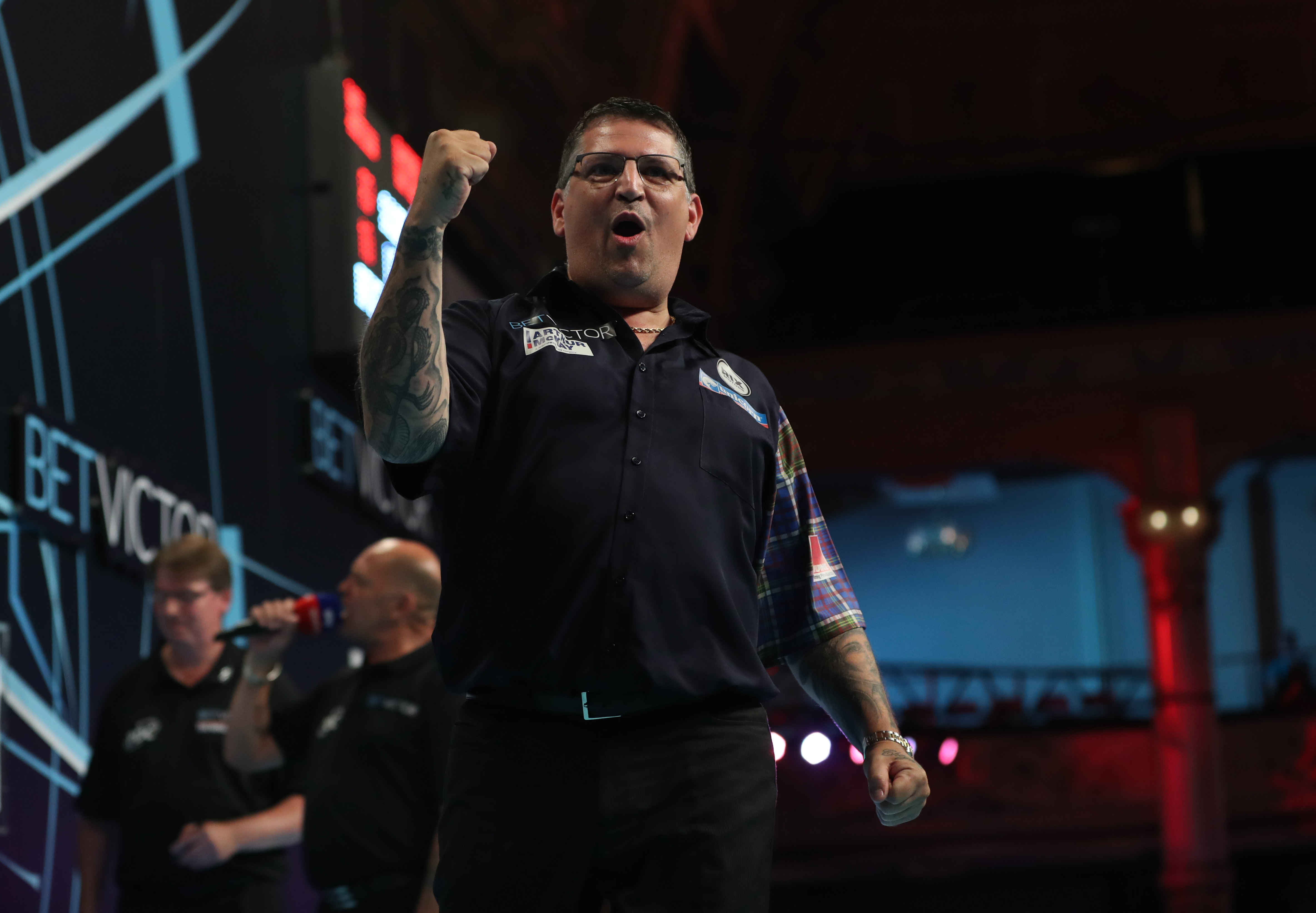 Gary Anderson Walk On Song